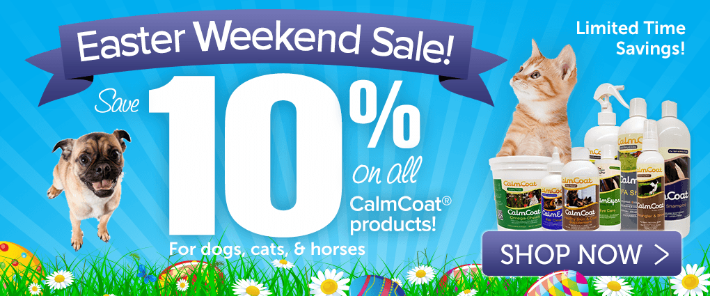 Save 10% on CalmCoat products