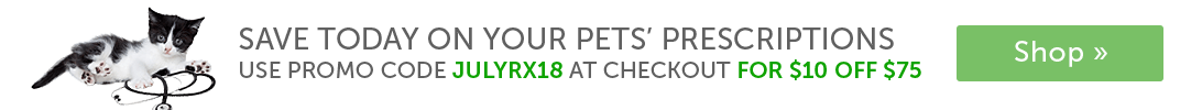 Shop our .pharmacy-verified pet pharmacy »