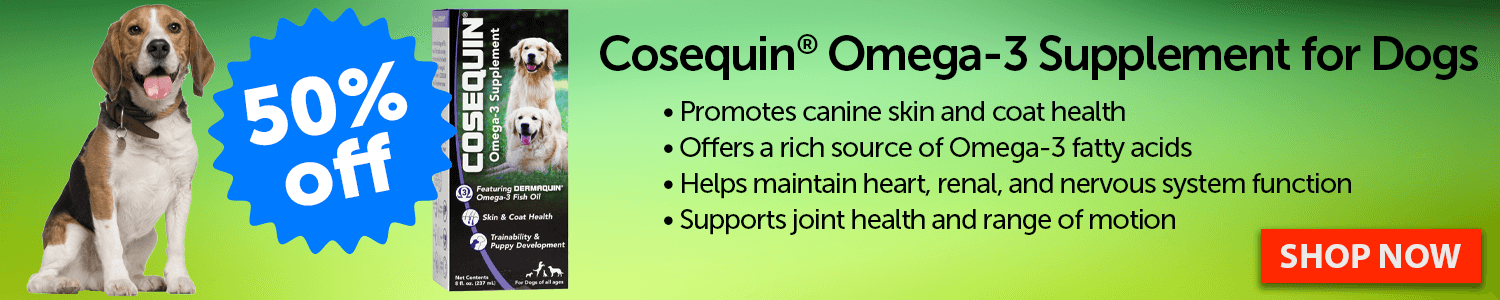 Cosequin Omega-3 Supplements for Dogs