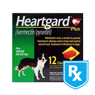 Shop Heartgard Plus Chewables for Dogs Rx