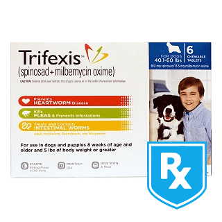 Trifexis Rx Chewable Tablets for Dogs