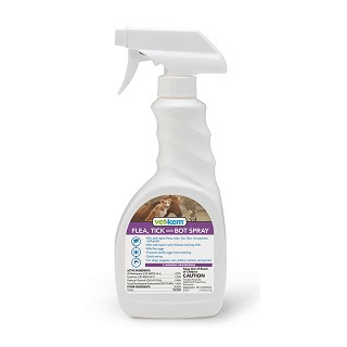 Vet-Kem Flea, Tick & Bot Spray, 16 oz