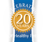Celebrating 20 years of healthy pets